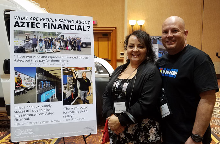 Robinson Custom Cleaning Finds Success with Aztec Financial