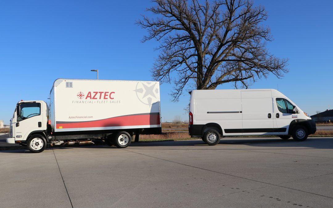 Choosing Between a Box Truck and Cargo Van