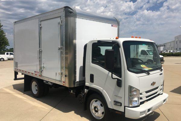 LCF Box truck 14