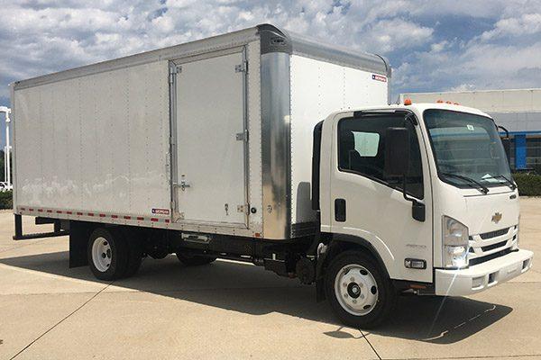 LCF Box truck 20